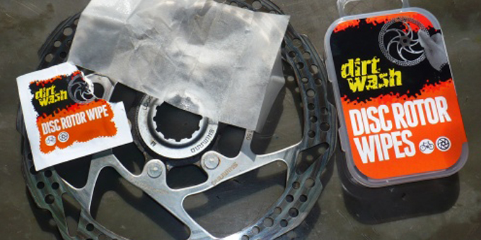 Test Dirtwash Disc Rotor Wipes