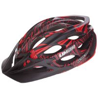 BPLUMEN  | Přilba Limar Ultralight+ MTB matt black red