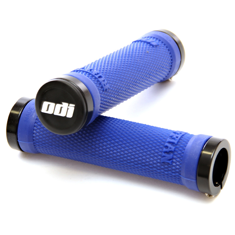 Gripy MTB ODI Ruffian Lock-On Bonus Pack modré