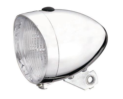 Světlo diodové bateriové Retro chrom