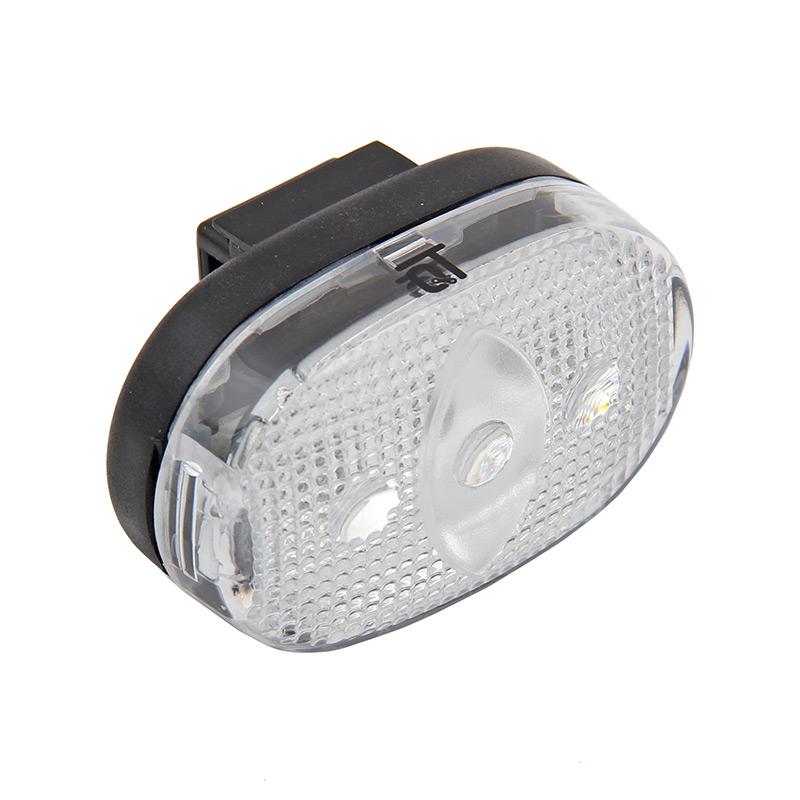 Světlo blikací přední QT Cycle Tech 3-diody, bílé