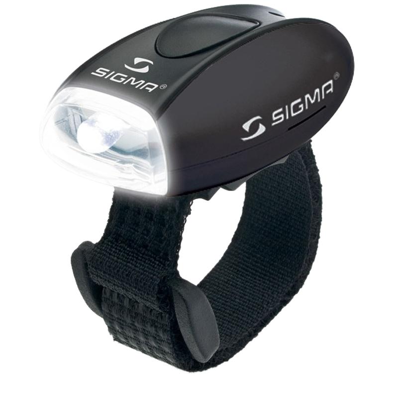 Světlo blikací přední Sigma Micro W černé