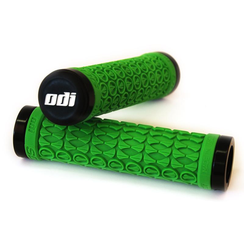 Gripy MTB ODI SDG Lock-On Bonus Pack zelené