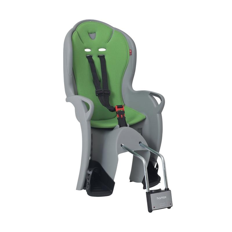 Sedačka HAMAX Kiss, šedá/zelená