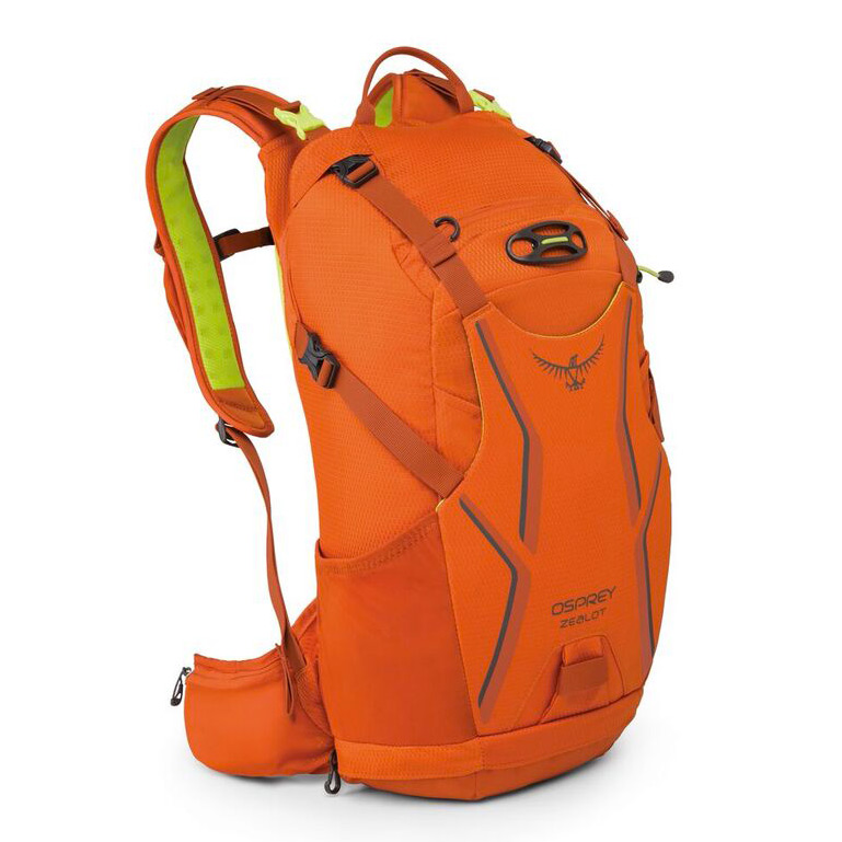 Batoh Osprey Zealot 15, atomic orange