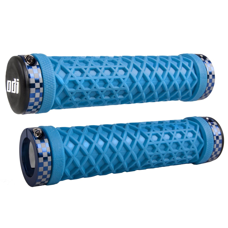 Gripy MTB ODI VANS Lock-On Bonus Pack světle modrá