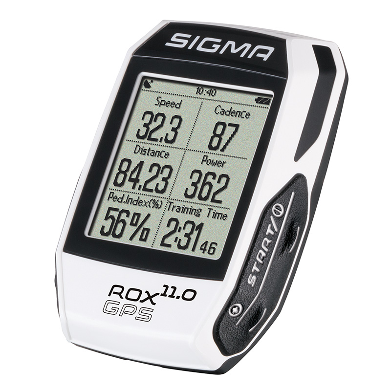 Computer Sigma ROX 11.0 GPS SET E bílá