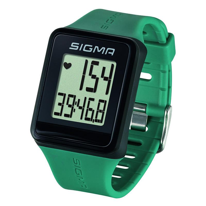 Pulsmetr Sigma iD GO zelená akce