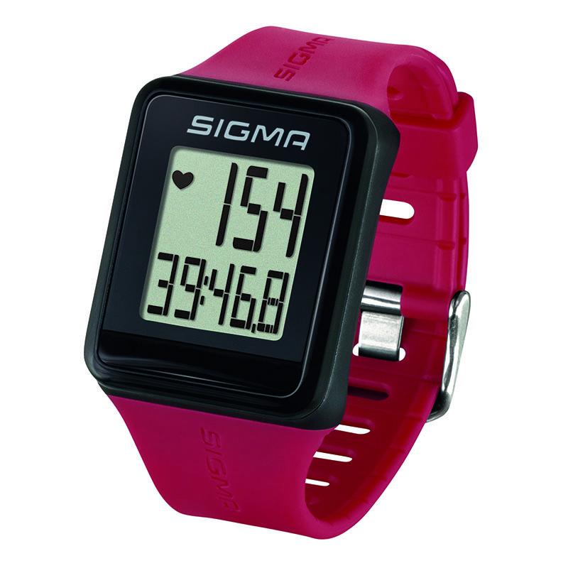 Pulsmetr Sigma iD GO růžová akce