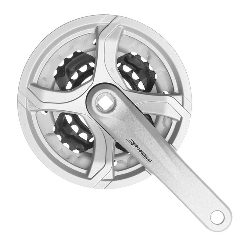 Trojpřevodník 170 mm 42-32-22 Prowheel TC-CM01 stříbrný