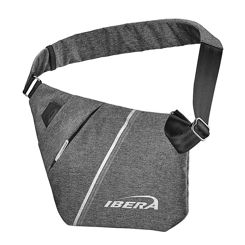 Brašna na rameno Ibera SF1 Slimline Sling Bag šedá