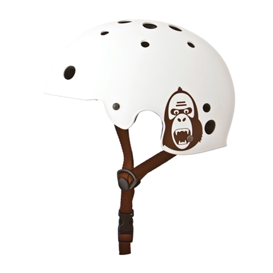 Přilba King Kong BMX bílá matná, L