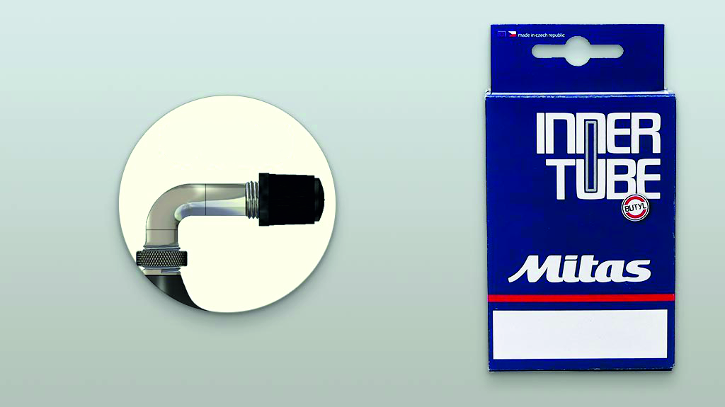 Duše  7 x 1 3/4 Rubena/Mitas ventil AV90°