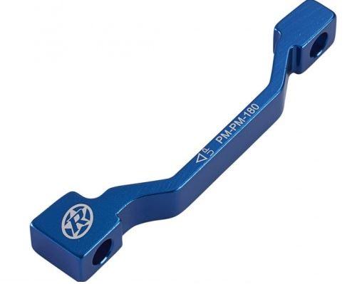 Adaptér přední brzdy Reverse PM-PM 180 mm  modrá