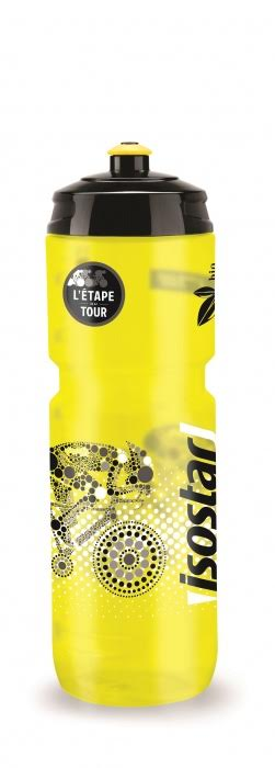 Láhev Isostar 0,8 l žlutá/černá cyklo