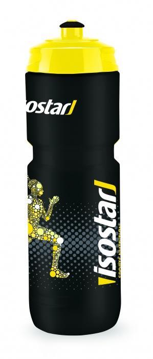 Láhev Isostar 0,8 l černá cyklo
