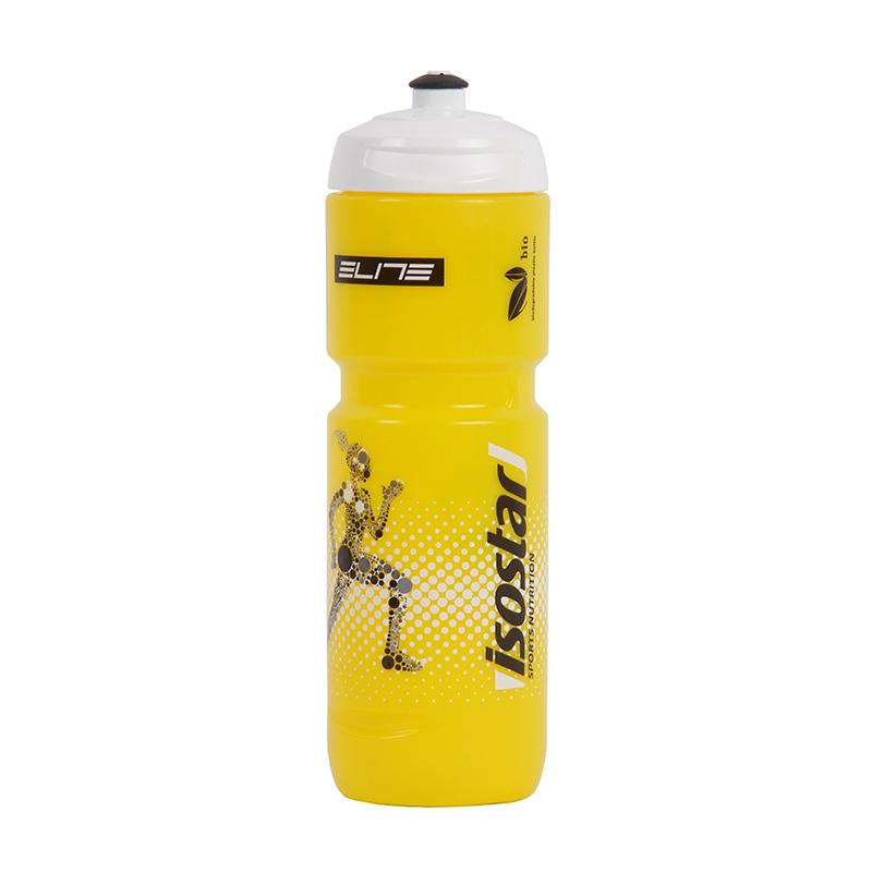 Láhev Isostar 0,8 l žlutá/bílá cyklo