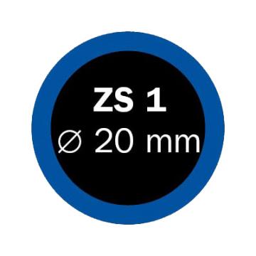 Záplaty Ferdus 20 mm ZS 1 (obsahuje 100 ks)