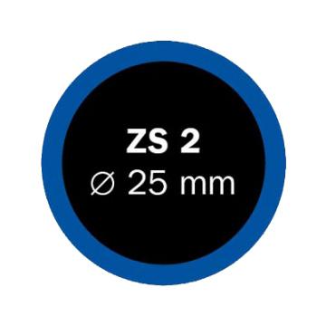 Záplaty Ferdus 25 mm ZS 2 (obsahuje 100 ks)