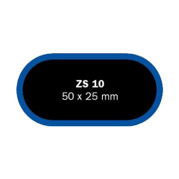 Záplaty Ferdus 50x25 mm ZS 10 (obsahuje 50 ks)