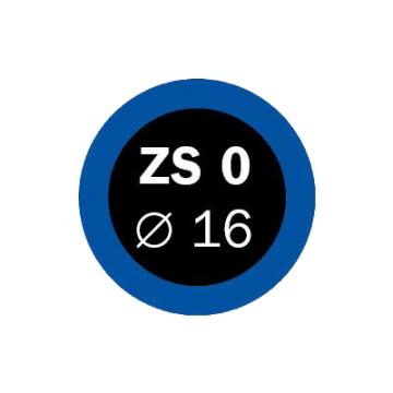 Záplaty Ferdus 16 mm  ZS 0 (obsahuje 100 ks)