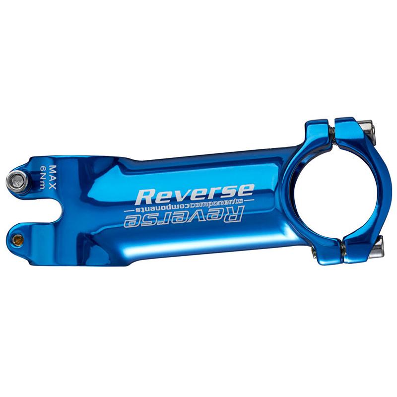 Představec Reverse XC 90 mm / 6° / 31,8 mm modrý