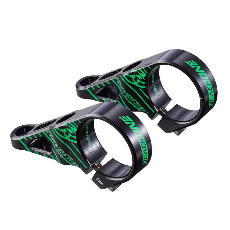 Představec Reverse Black One Direct Mount 48 mm / 31,8 mm černá/zelená