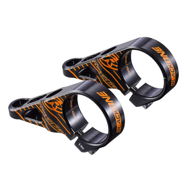 Představec Reverse Black One Direct Mount 48 mm / 31,8 mm černá/oranžová