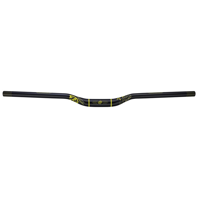 Řidítka Reverse Lead 770/25 mm / 31,8 mm černá/žlutá