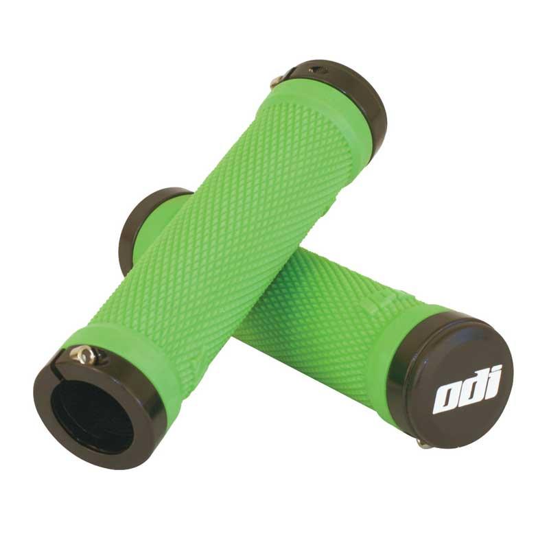 Gripy MTB ODI Ruffian Lock-On Bonus Pack zelené