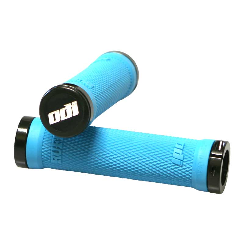 Gripy MTB ODI Ruffian Lock-On Bonus Pack aqua